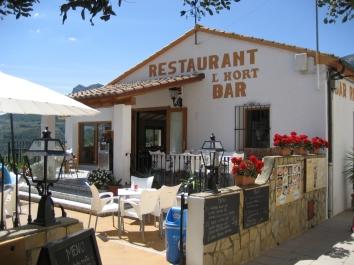 Restaurante L'Hort Guadalest