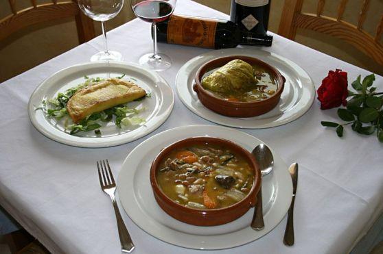 Restaurante lHort platos tipicos